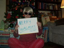 Merry Swagmas To All by Makeup-love95