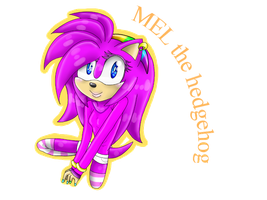 Mel the hedgehog by animehamster1475
