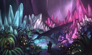 Crystal Forest by LongJh