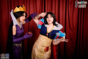 The Queen and the Princess by Integra-cosplay