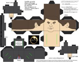 Heroes3: Nathan Petrelli Cubee by TheFlyingDachshund