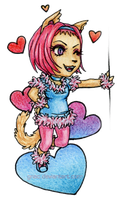 Catgirl_Mini Chibi by GnAc