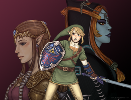 LoZ: Twilight Princess by KittyCatKissu