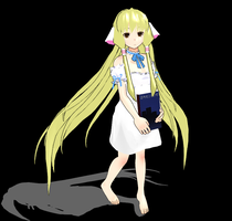 [MMD] Chobits - Chii  DL by umi-viera