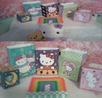 Little Sanrio Boxes by WHORE-ibble