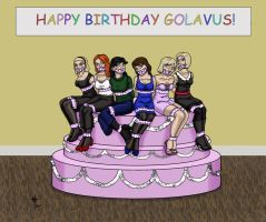 Party time for the CGDA by Golavus