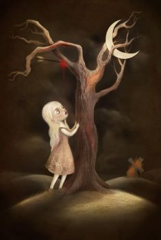 The Girl and the Killing Tree by meluseena