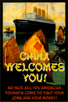 China Welcomes You! by poasterchild