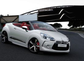 Citroen DS3 Cabrio White by MurilloDesign