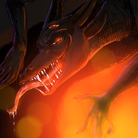 Evil dragon by 4erti4to