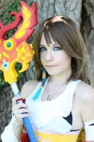 Yuna Summoner Cosplay by Bexxin