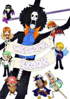 Welcome Brook by ShahanaMikagi