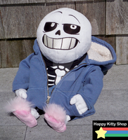 Sans Custom Plush Commission by QueenBeePlush