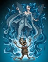 Blue Fairy's Wrath by msciuto