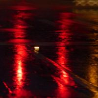 A product of traffic and rain by Daydreamer6123