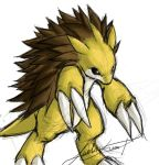 Sandslash by Tiggstar
