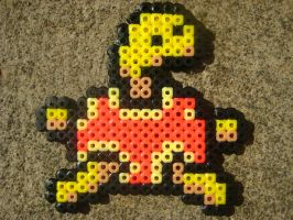 Perler: Shuckle by PhishRitzy