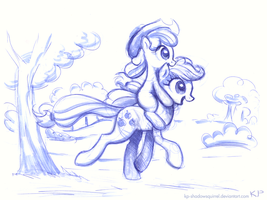 Sisterback Ride by KP-ShadowSquirrel