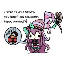 Happy Birthday Card v2 by littleredren