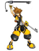 Sora Master Form by KHWorld