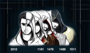 Assassin's Creed lineup by YushiiElizabeth