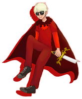 AT: Dave Strider by haz3lnut
