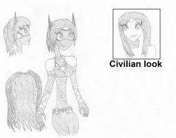 Alt Gotham Cassandra Cain new costume concept by The-Miho-chan