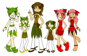 Group of Seedrians by Remmis-AppleMaster