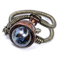 Matrix Opal Steampunk Ring by CatherinetteRings
