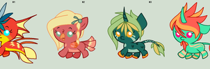 Crazy Babbies - AUCTION - Closed by NomDePlume-Adopts