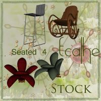 seated stock pack 04 by Ecathe