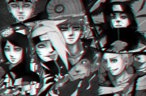 Akatsuki 3D effect. by Kihiart