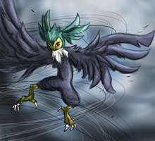 Gale the Whirlwind by Blackwolfpaw