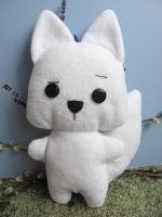 Eco friendly Skeptical Arctic Fox - SOLD by mypetmoon