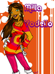 PsychoNauts: MILLA VODELLO by IrregularChild