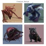 Creature Concepts by Phill-Art