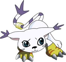 My second vector of, Gatomon. by Flutterflyraptor