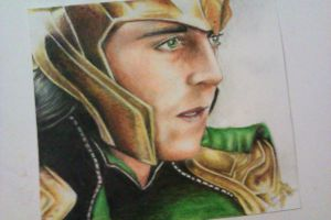 Loki of Asgard by SsSimple