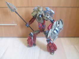 Bionicle MOC:Toa Lance(revamped) by TheAxelandx1