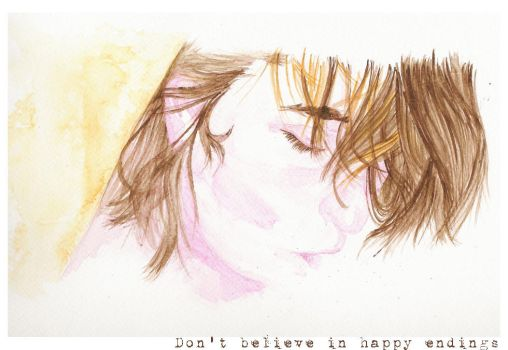 Don't believe in happy ending by MiladydeWitch
