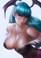 Morrigan Aensland by dandonfuga