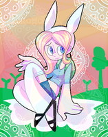 [FANART] FIONNA TIME by Sluggy-Slimes