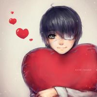 Tokyo Ghoul: Be my Valentine? by Alicere