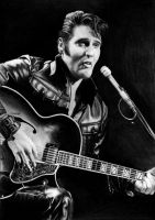 Elvis Presley 1968 by Yankeestyle94