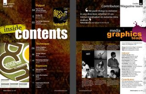 Magazine Layout Page2-3 by eathan28