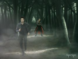 Run Edward Run by SPRSPRsDigitalArt