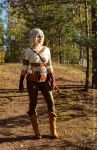 The Witcher 3: Wild Hunt, Cirilla by AmazingRogue