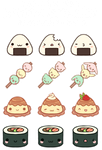 F2U Kawaii Stickers - Set 1 by Kiwicide