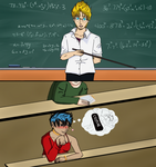 College daydreams by AnotherDBZfan