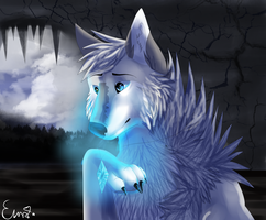 Selenewolf25- Spirit by KingDarkSoul